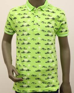 Boys Fashion Polo Green