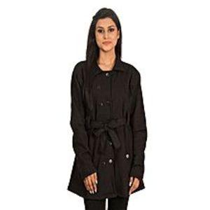 Abdul CollectionBlack Winter Coat For Women