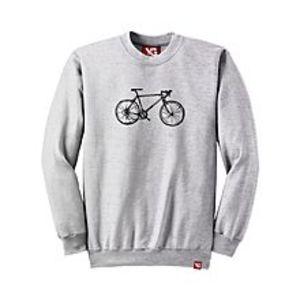 Why GenBicycle - Light Grey Colour - fleece Sweatshirt