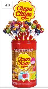 Chupa Chups jar 100 Lolipos 1200g