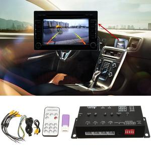 Speeding 360° DC 12V Car SUV DVR Record Panoramic View All Round Rear View Camera System