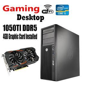 HP Desktop Z220 Tower - Intel Core i5 3470 3.2 GHz  3rd Generation Gaming PC , 16GB RAM, 1TB Hard Drive, 256 SSD, 1050TI 4GB DDR5 Windows 10