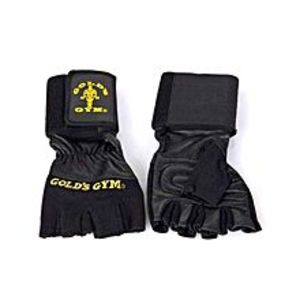 Select Your ChoiceGolds Gym Wrist Wrap Lifting Gloves - Black