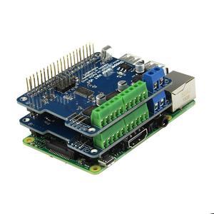 Full function Robot Expansion Board (Support Stepper / Motor / Servo) for Raspberry Pi 3B /2B / B+