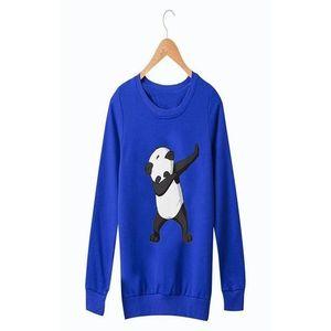 Royal Blue Printed Sweatshirts For Women