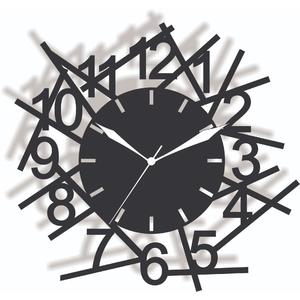 Wooden cutting wall clock / laser cutting Antique Style  wall clock, ZigZag Style