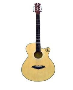 "Apple Acoustic Guitar Branded Natural Color 40"""