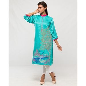 Aeys Ferozi Boski Embroidered Kurta For Women