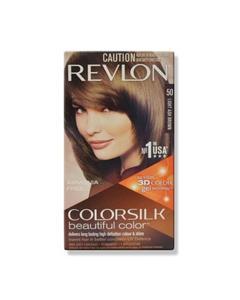 Revlon Color Silk Hair Color 3D Color Technology Light Ash Brown (50)