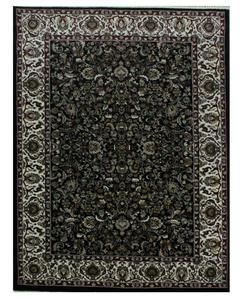 Heavy Traditional Rug - Synthetic - 4X6 - Black