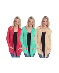 Pack of 3 – Bright Colors Viscose Shrugs for Women