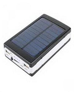 30,000Mah Solar Powered Power Bank With Led Torch