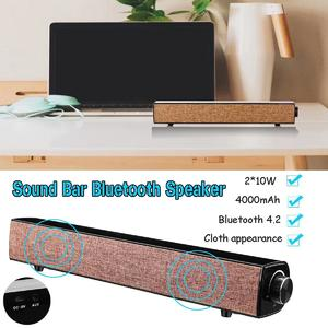 20W bluetooth Soundbar Speaker Sound Bar TV Home Theater Subwoofer For Laptop PC