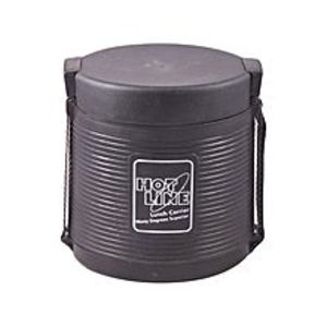 Hotline2 Compartments Food Carrier - Black