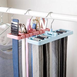 Creative Tie Shawl Scarf Rack Holder Home Belt Hanger #J