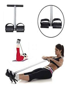 Tummy Trimmer - Black & Silver