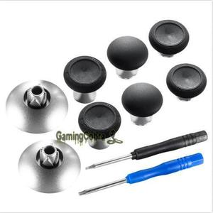 Replacements Magnetic Thumbsticks Fit For Xbox One Elite 3.5 mm / PS4 Controller#black