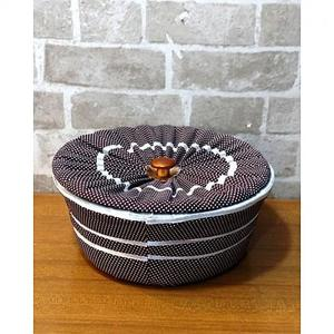 3 Piece Roti Hot Pot Basket - Multi Designs By Markhor Shopping