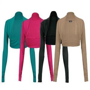 Pack Of 4 - Multicolour Viscose Mini Shrugs for Women