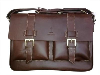 GIORGIO ARMANI Executive Leather Bag for Laptop & Notebook LP652