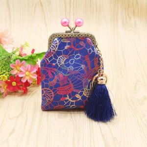 Women Lady Retro Vintage Canvas Small Wallet Hasp Purse Clutch Bag BK
