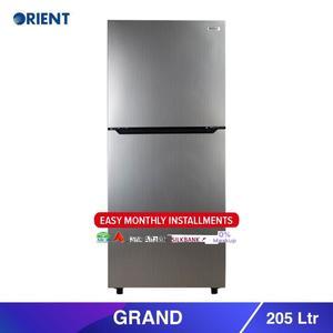 Orient Grand 205 - Top Mount Refrigerator 205 L- Silver