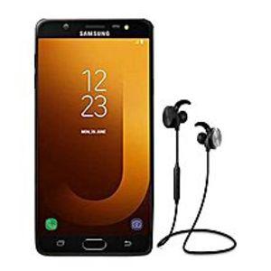 SamsungJ7 Max - 4 GB RAM - 32 GB - 13 Mp - Black + FREE RIVER SONG - C01 - Bluetooth Headphone