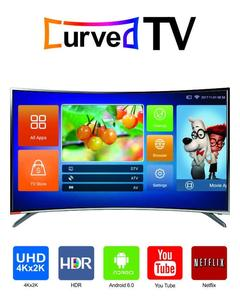 UD65F7300i, Curved Smart TV, 4K-UHD, 65'' Inch , Android 6.0 ( Marshmallow), Built-In YouTube.