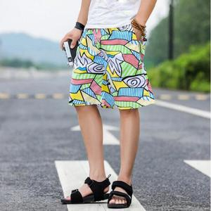 Fashion Men's Strapped Big Size Beach Fit Sport Quick Dry Casual Shorts Pants