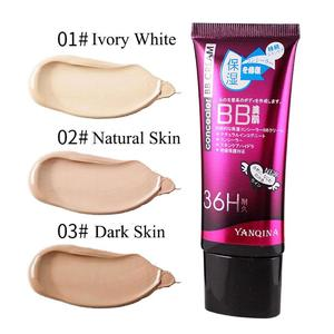 YANQINA Natural Flawless BB Cream Brightening Moisturizing Concealer Nude Foundation Makeup Face Beauty Tools Hot