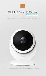 Original Xiaomi Aqara IP Camera Smart Surveillance Camera Anti-theft 1080P 180 degrees view For xiaomI mi home app