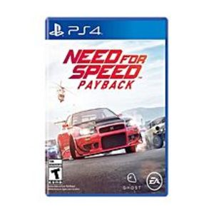 SonySony Playstation 4 Dvd Need For Speed Payback Ps4 Game