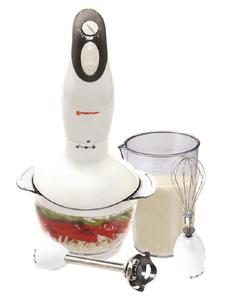 Westpoint Wf-3201 - Hand Blender, Chopper And Egg Beater - White, N/A