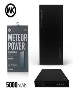 WK Meteor Power Bank 5000mah - Black