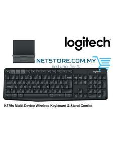 K375S Multi-Device Wireless Keyboard & Stand Combo With Mouse