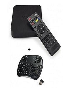 Combo MXQ - Android TV Box 1GB/8GB with Wireless Touchpad Keyboard - Black