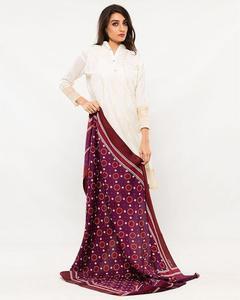 Women Multi Color Sindhi Ajrak 00012