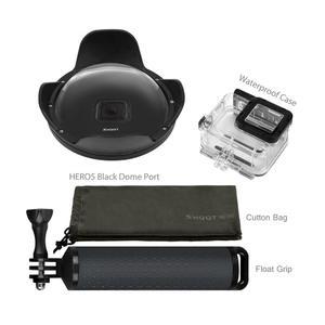 TE Dome Port For Gopro Hero 6 5 Waterproof 30M Spherical Water Lens Hood