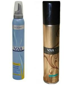 Pack Of 2 - Hair Styling Mousse - 200Ml & Hair Spray Firm Hold - 200Ml