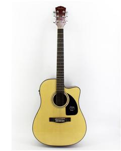 Semi-Acoustic Guitar 41''C With Fishman-Isy301 Tuner Eq + Bag + Strap