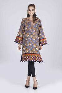 Bonanza Satrangi WINTER COLLECTION-19 VOL.1 DARK SHADOW - 1 PC 1 PC Unstitched Kurti for Women