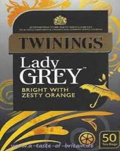 London Lady Grey Bright With Zesty Orange - 50 Tea Bags