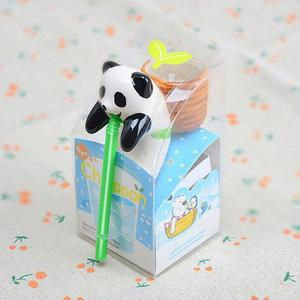 Automatic Watering System Bonsai Straw Ornaments Cute Ceramic with Seeds Water Absorption Cultivation Self Watering Device