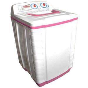 Semi Automatic Washing Machine - Sk 480 - Pure Copper - White & Pink