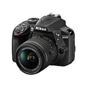 Nikon D3400 - DSLR Camera - 24.2 MP - Black