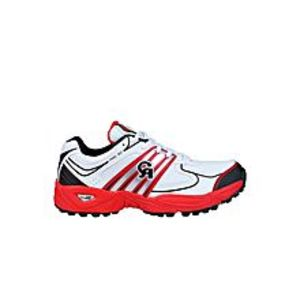 CA Sports Red Cricket Shoes for Men - Pro 50