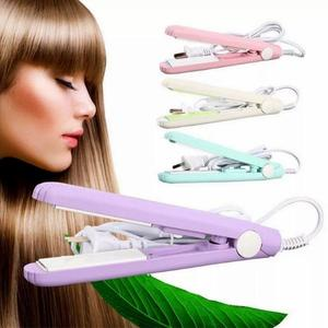 Mini Portable Hair Flat Iron Wet/Dryer Straightening Irons Candy Color Fast Hair Straightener