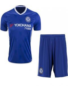 Blue Polyester Chelsea Football Kit