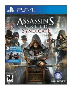 PLAYSTATION 4 DVD ASSASSIN CREED SYNDICATE PS4 GAME
