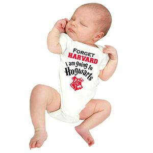 Newborn Infant Baby Boys Short Sleeve Letter Romper Jumpsuit Clothes Outfits